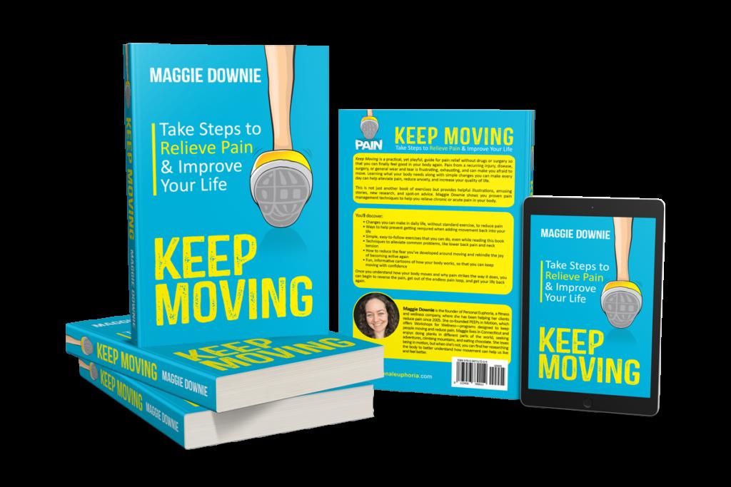 Keep Moving Book Display